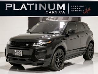 Used 2016 Land Rover Range Rover Evoque HSE, Dymanic, NAVI, PANO, CAM, Heated Lthr Range Rover Evoque for sale in Toronto, ON