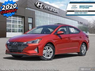 New 2020 Hyundai Elantra Preferred w/Sun & Safety Package IVT  - $140 B/W for sale in Brantford, ON