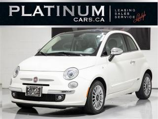 Used 2012 Fiat 500 Lounge, SUNROOF, LEATHER, A/C for sale in Toronto, ON