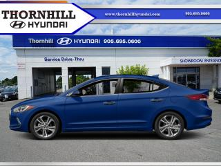 Used 2017 Hyundai Elantra Limited  - Sunroof -  Navigation for sale in Thornhill, ON