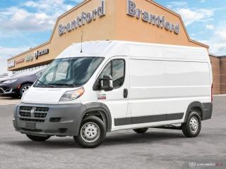 Used 2018 RAM ProMaster 2500 HI CARGO  - $232 B/W for sale in Brantford, ON