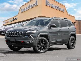 Used 2016 Jeep Cherokee Trailhawk - Bluetooth - $188 B/W - $188 B/W  - $188 B/W for sale in Brantford, ON