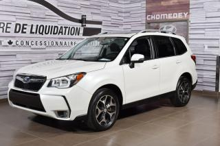 Used 2016 Subaru Forester Limited XT avec eyesight+cuir+toit+gps for sale in Laval, QC