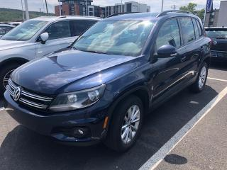 Used 2017 Volkswagen Tiguan Édition Wolfsburg 4 portes 4MOTION for sale in Rivière-Du-Loup, QC