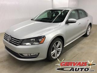 Used 2014 Volkswagen Passat TDI Comfortline Sport Cuir Toit Ouvrant MAGS for sale in Shawinigan, QC