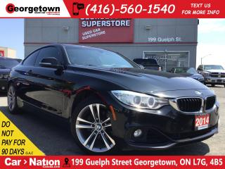 Used 2014 BMW 428i xDrive | RED LEATHER | NAVI | BU CAM | PARK SENSOR for sale in Georgetown, ON
