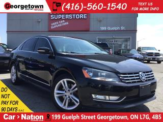 Used 2015 Volkswagen Passat 2.0 TDI Highline | TINT |BU CAM| MEM SEAT|SUNROOF for sale in Georgetown, ON