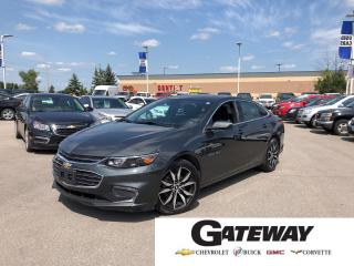 Used 2018 Chevrolet Malibu LT|Leather|Roof|Navigation|Rear camera| for sale in Brampton, ON