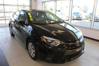 Used 2016 Toyota Corolla LE CVT CAMÉRA MAIN LIBRE for sale in Lévis, QC