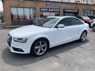 Used 2013 Audi A4 2013 Audi A4 - 4dr Sdn Auto Premium Plus/NAVI/BNO for sale in North York, ON