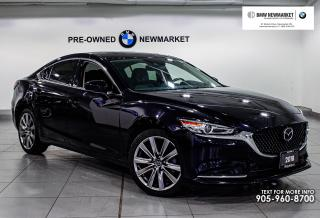 Used 2018 Mazda MAZDA6 GT at -1OWNER| NO ACCIDENTS| for sale in Newmarket, ON