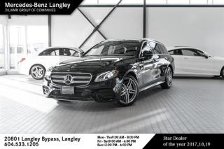 Used 2018 Mercedes-Benz E-Class E400 4MATIC Wagon for sale in Langley, BC