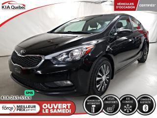 Used 2016 Kia Forte LX+* AT* SIEGES CHAUFFANTS* A/C* for sale in Québec, QC