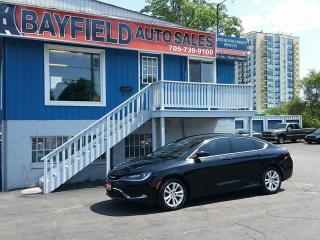 Used 2015 Chrysler 200 Limited V6 for sale in Barrie, ON
