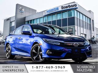 Used 2018 Honda Civic Touring|1 OWNER|NAV|MOONROOF for sale in Scarborough, ON