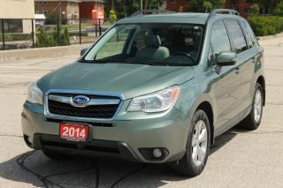 Used 2014 Subaru Forester 2.5i Limited Package Leather | Sunroof | AWD  | CERTIFIED for sale in Waterloo, ON