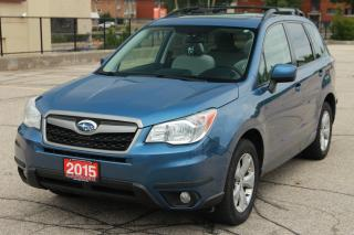 Used 2015 Subaru Forester 2.5i Touring Package AWD | Sunroof | Bluetooth | CERTIFIED for sale in Waterloo, ON