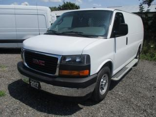 Used 2017 GMC Savana 3/4 TON CARGO MOVING 2 PASSENGER 4.8L - VORTEC.. SHORTY.. MIDDLE BARN DOORS.. TOW SUPPORT.. AIR CONDITIONING.. AUX INPUT.. for sale in Bradford, ON