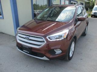 Used 2018 Ford Escape FOUR-WHEEL DRIVE SEL MODEL 5 PASSENGER 1.5L - ECO-BOOST.. NAVIGATION.. LEATHER.. HEATED SEATS.. POWER PANORAMIC SUNROOF.. BACK-UP CAMERA.. for sale in Bradford, ON