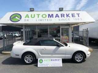 Used 2006 Ford Mustang V6 Deluxe Convertible FREE BCAA! FREE WRNTY! WE FINANCE EVERYONE! for sale in Langley, BC