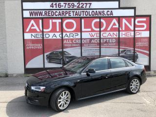 Used 2016 Audi A4 2.0T Progressiv plus S-LINE-ALL CREDIT ACCEPTED for sale in Scarborough, ON