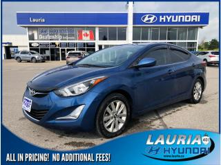 Used 2015 Hyundai Elantra GL Sport Appearance - Sunroof / Backup camera for sale in Port Hope, ON