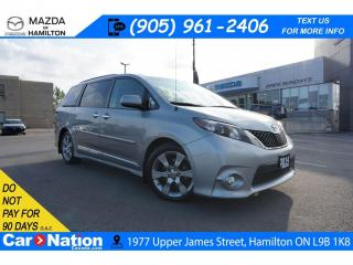 Used 2014 Toyota Sienna SE 8 PASSENGER | SUNROOF | REAR CAM | PWR DOORS for sale in Hamilton, ON