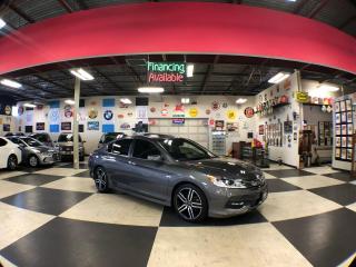 Used 2017 Honda Accord Sedan SPORT AUT0 LEATHER SUNROOF REAR CAMERA 71K for sale in North York, ON