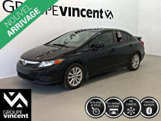 Used 2012 Honda Civic EX ** GARANTIE 10 ANS ** Fiable et économique! for sale in Shawinigan, QC