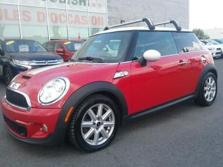 Used 2011 MINI Cooper S | MANUEL | CUIR | MAGS | CRUISE | BLUETOOTH | for sale in St-Hubert, QC