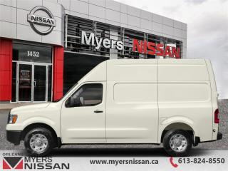 Used 2019 Nissan NV Cargo Van S  - $284 B/W for sale in Orleans, ON