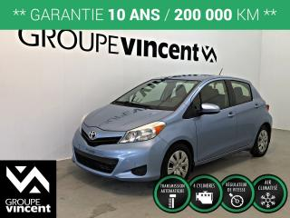 Used 2012 Toyota Yaris LE ** GARANTIE 10 ANS ** Fiable et économique! for sale in Shawinigan, QC