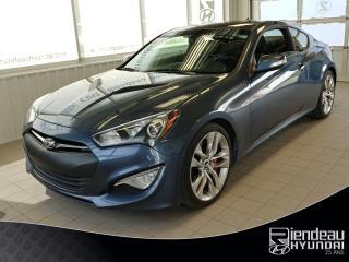 Used 2013 Hyundai Genesis 3.8 GT + CUIR + NAVIGATION for sale in Ste-Julie, QC