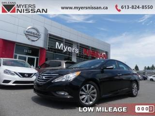 Used 2014 Hyundai Sonata LIMITED  - Sunroof -  Navigation - $124 B/W for sale in Orleans, ON