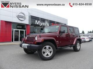 Used 2009 Jeep Wrangler Unlimited SAHARA  - $275 B/W for sale in Ottawa, ON