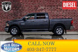 Used 2016 RAM 1500 4x4 Crew Cab SLT EcoDiesel BCam for sale in Red Deer, AB