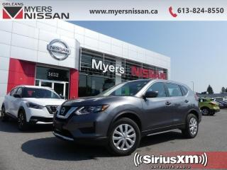 Used 2017 Nissan Rogue S  - Bluetooth -  SiriusXM - $158 B/W for sale in Ottawa, ON