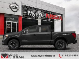 Used 2019 Nissan Titan SV Midnight Edition  - Navigation - $364 B/W for sale in Orleans, ON