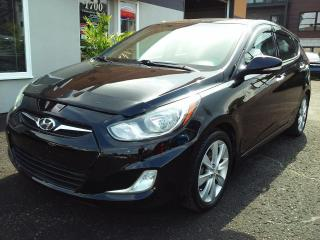 Used 2012 Hyundai Accent GLS automatique air bluetooht toit mags for sale in St-Charles-Borromée, QC