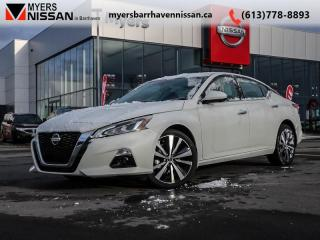 Used 2019 Nissan Altima Platinum  - Leather Seats -  ProPilot - $254 B/W for sale in Nepean, ON