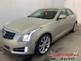 Used 2013 Cadillac ATS 4 Premium V6 AWD GPS Cuir Toit Ouvrant MAGS for sale in Shawinigan, QC