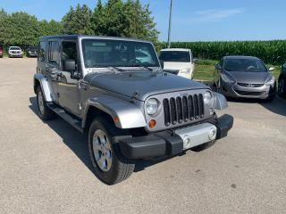 Used 2013 Jeep Wrangler Sahara for sale in Waterloo, ON