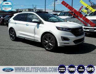 Used 2017 Ford Edge SPORT, GPS, TOIT OUVRANT, for sale in St-Jérôme, QC