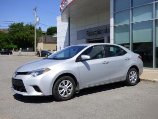 Used 2016 Toyota Corolla CE - AUTOMATIQUE for sale in Trois-Rivières, QC