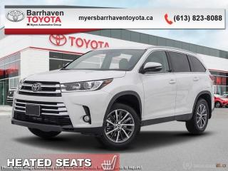 New 2019 Toyota Highlander XLE AWD  - Navigation -  Sunroof - $296 B/W for sale in Ottawa, ON