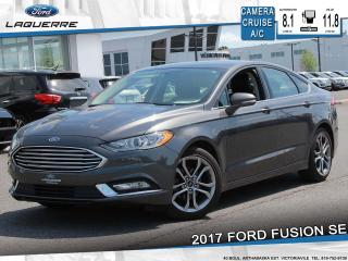 Used 2017 Ford Fusion SE**CAMERA*BLUETOOTH*CRUISE*A/C** for sale in Victoriaville, QC