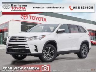 New 2019 Toyota Highlander LE AWD  - $259 B/W for sale in Ottawa, ON