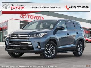 New 2019 Toyota Highlander XLE AWD  - Navigation -  Sunroof - $294 B/W for sale in Ottawa, ON
