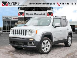 New 2018 Jeep Renegade Limited  - Leather Seats - $204 B/W for sale in Ottawa, ON