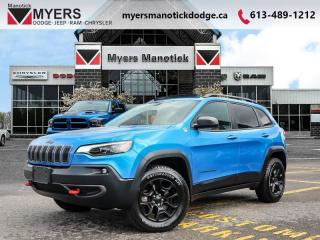Used 2019 Jeep Cherokee Trailhawk  - Bluetooth - $212 B/W for sale in Ottawa, ON